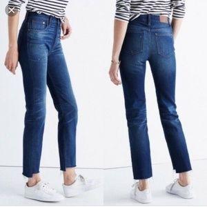 Madewell Perfect Vintage Jean Step Hem Edition 32
